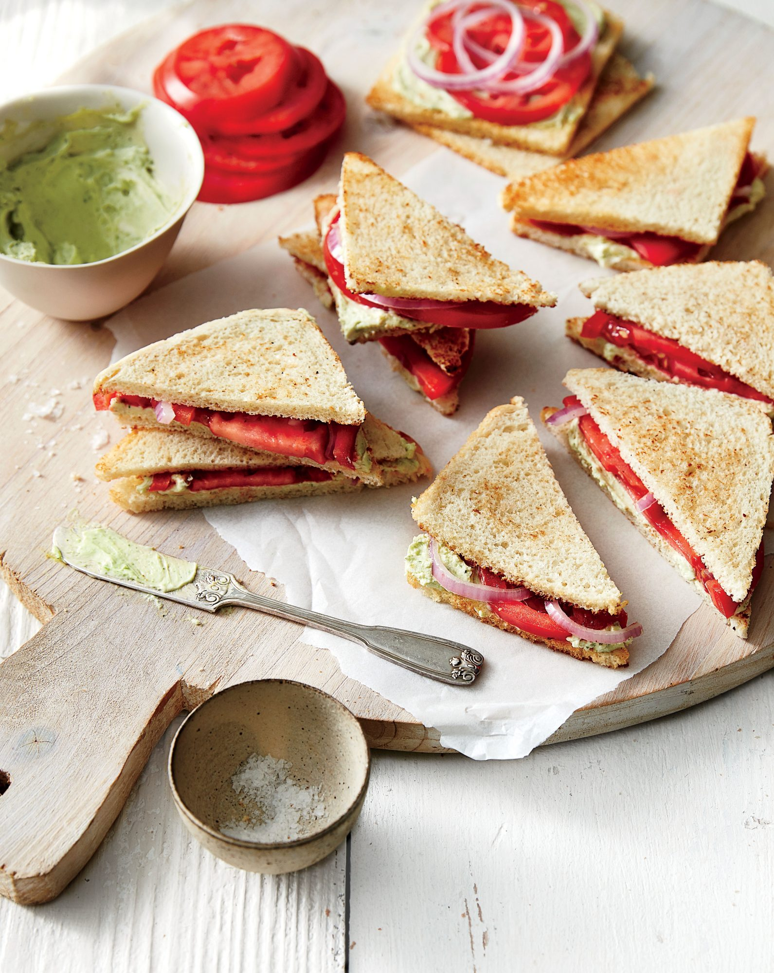 Tomato Tea Sandwiches