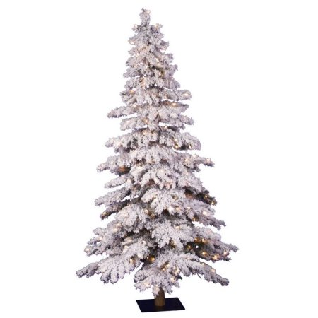 Beautiful Artificial Trees Flocked