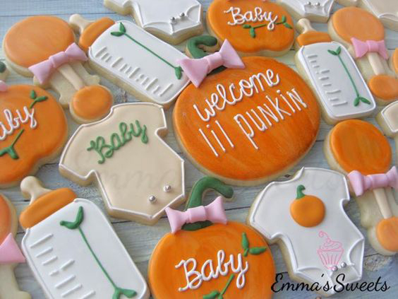 Little Pumpkin Cookies