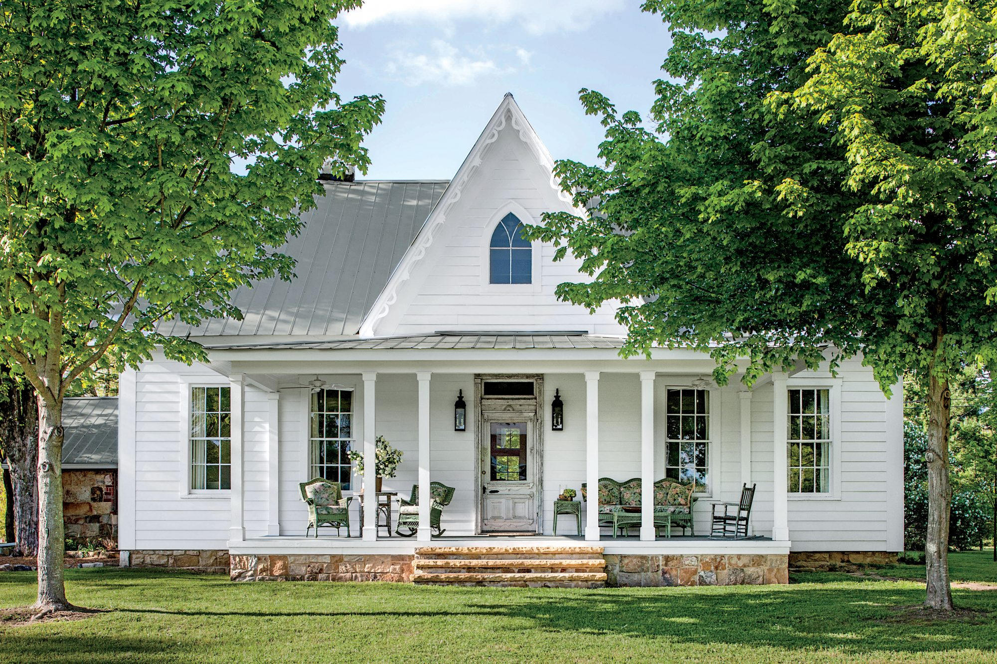 White Rustic Farmhouse