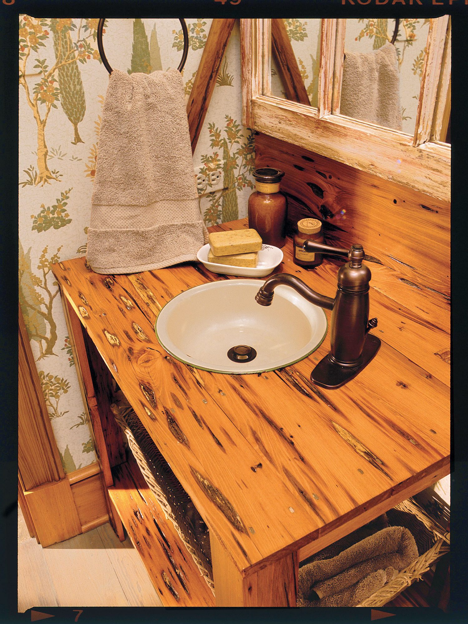 IDEA #9: Jazz Up a Powder Room