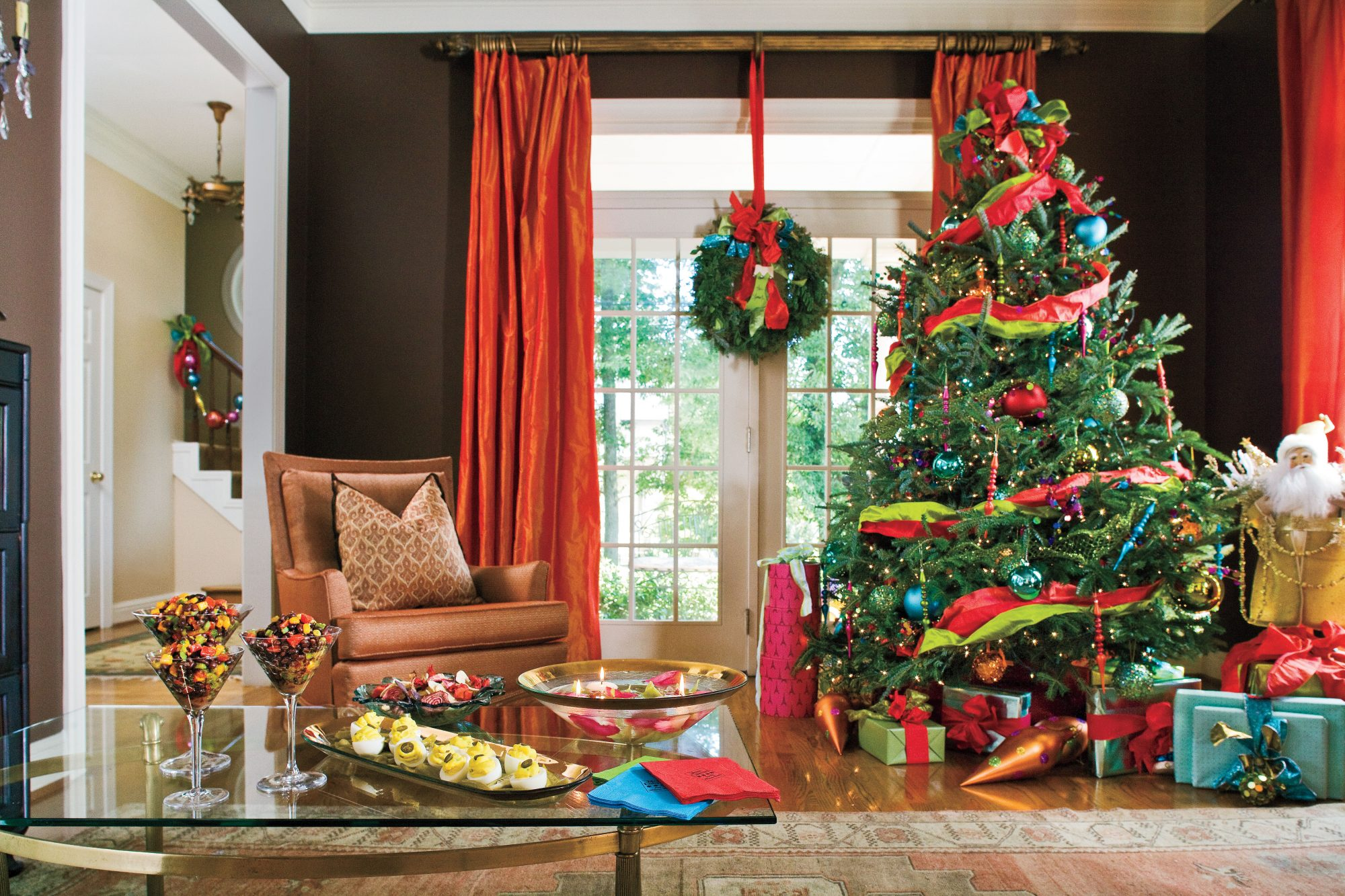 Bold and Bright Christmas Tree