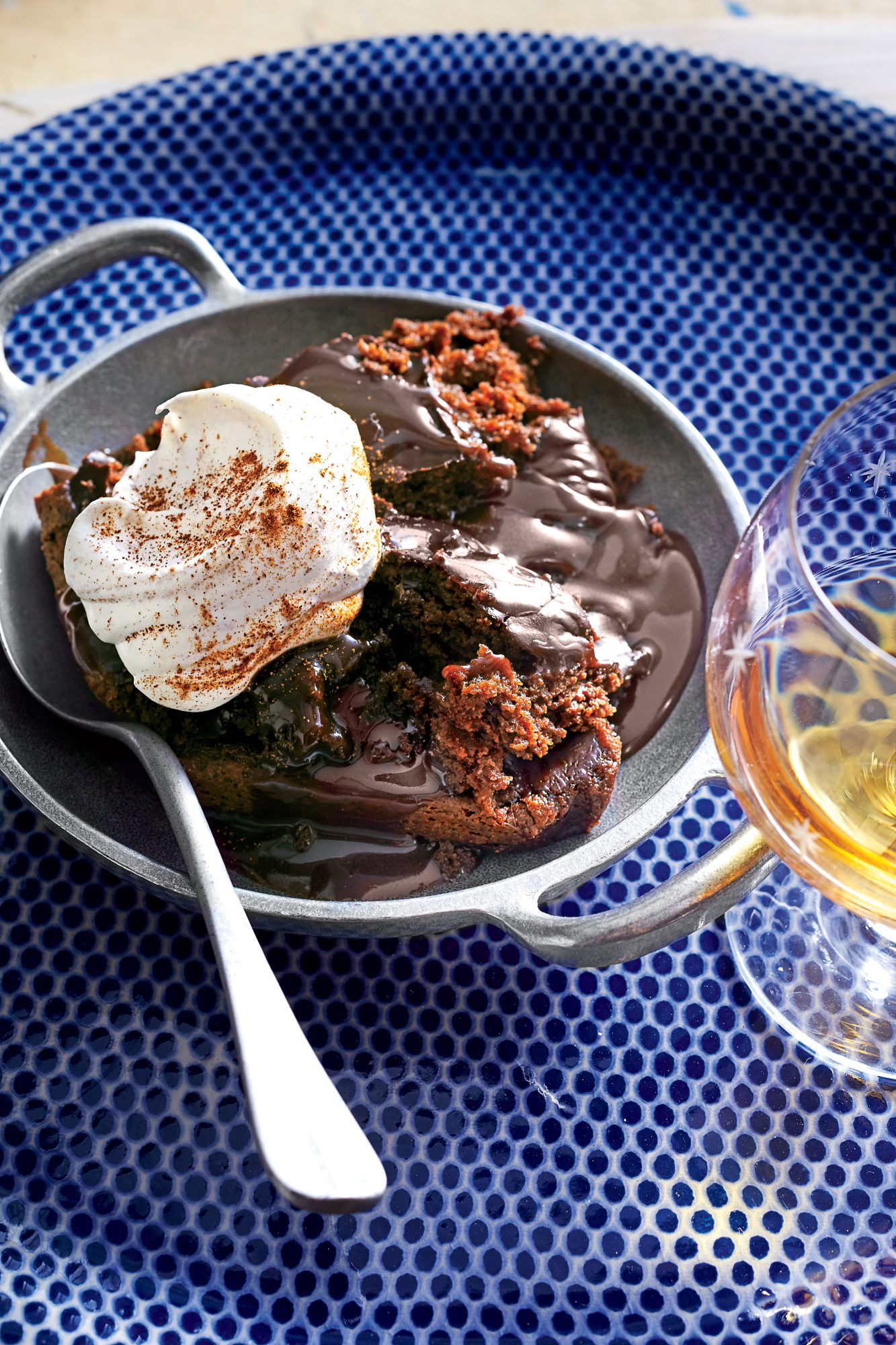 Chocolate Lava Cake with Cinnamon Whipped Cream Recipe Southern Living