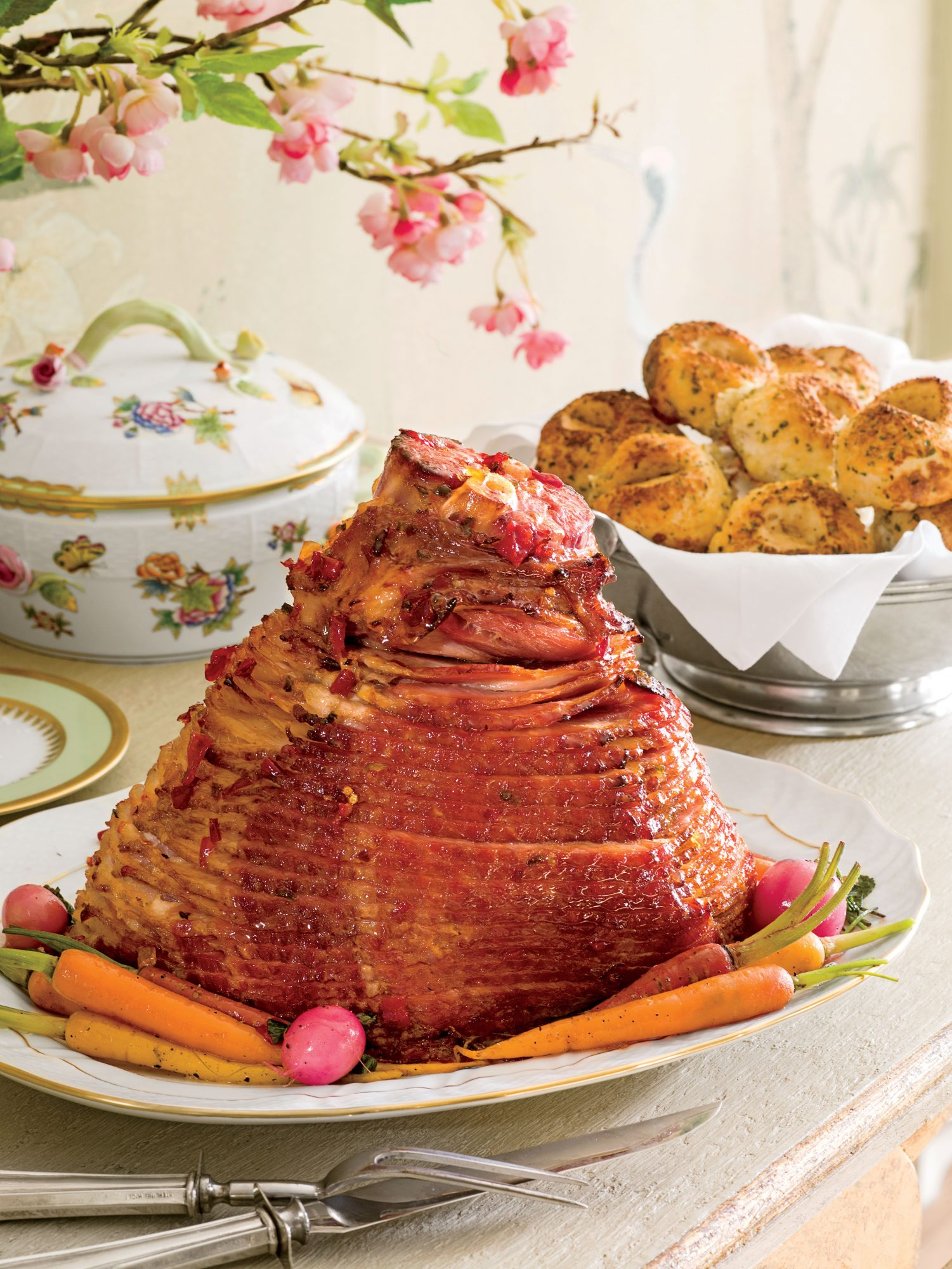 Glazed Spiral-Cut Holiday Ham Recipe