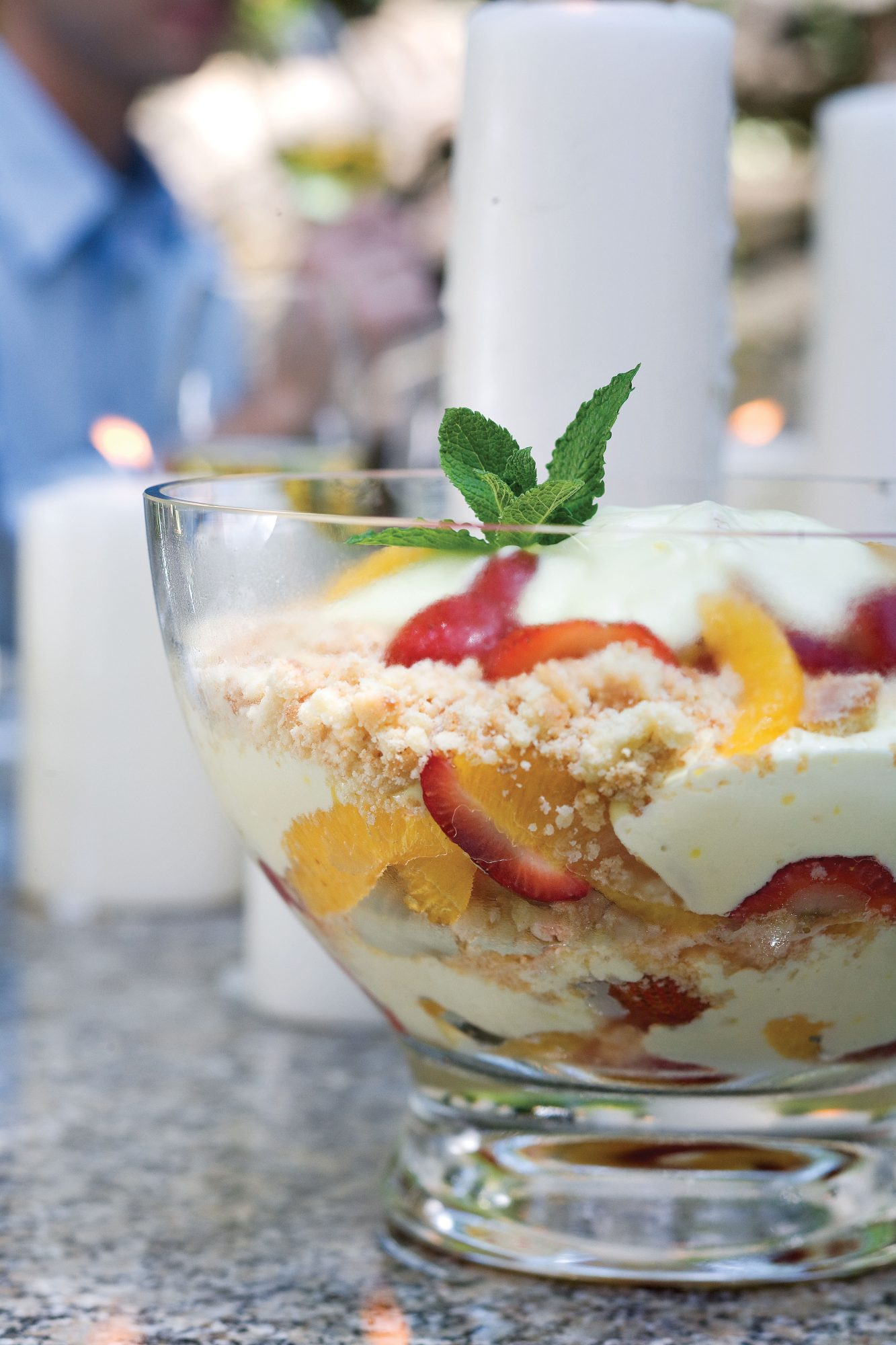 Strawberry-Orange Trifle Recipes