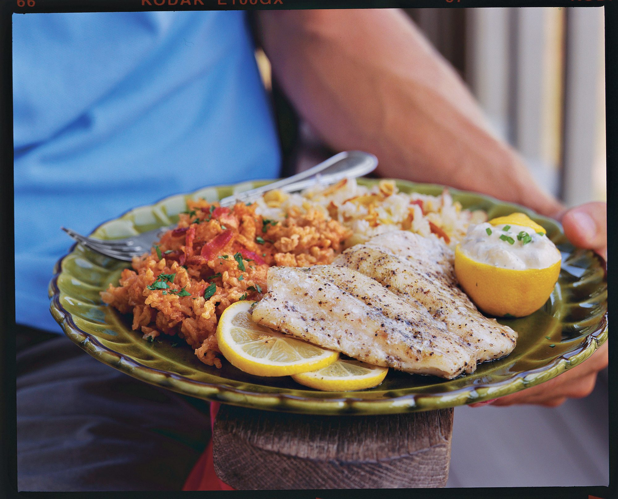 Greek Snapper on the Grill recipe