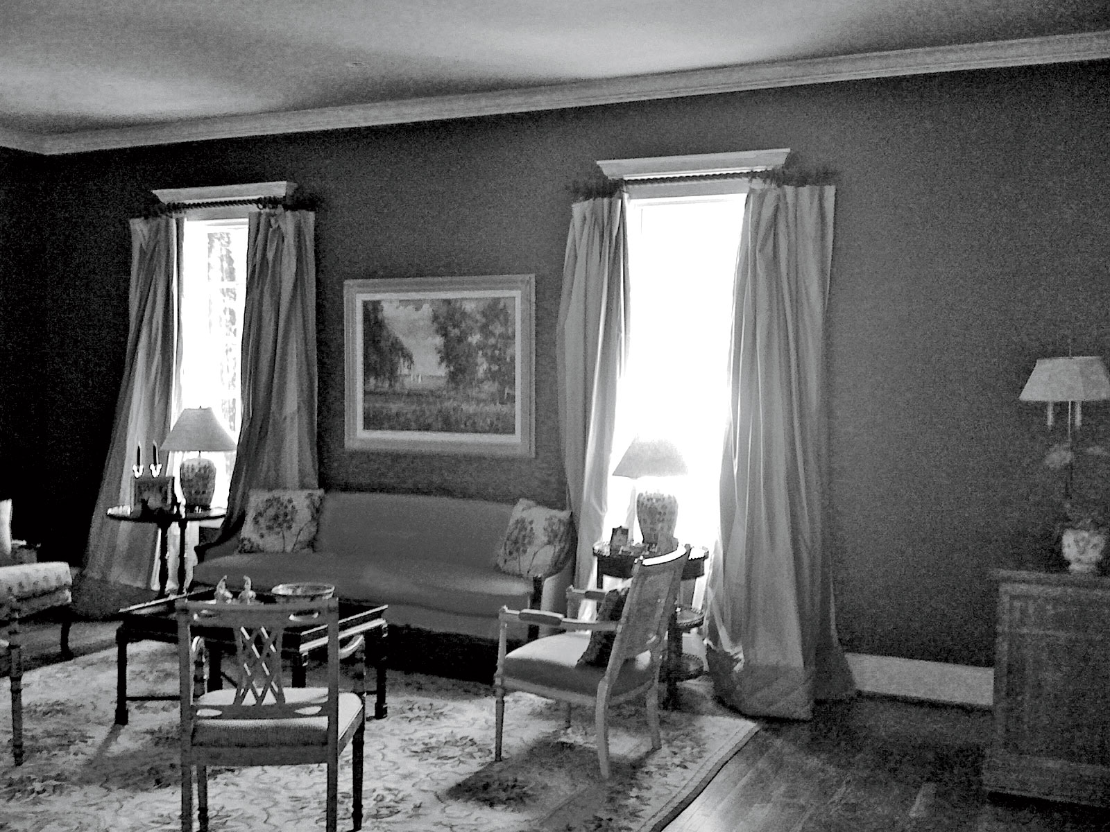 Before: Neutral Update Living Room