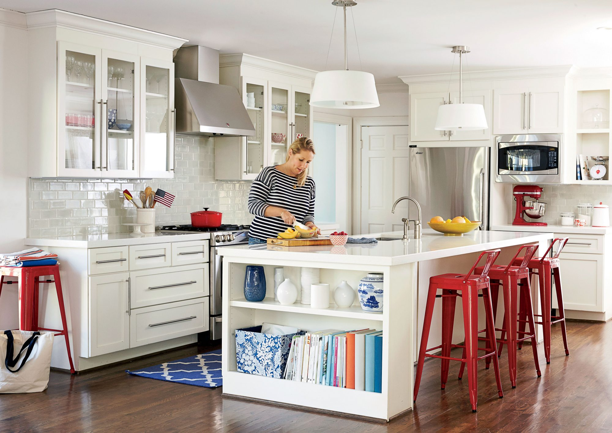 Gen Sohr White Kitchen Makeover