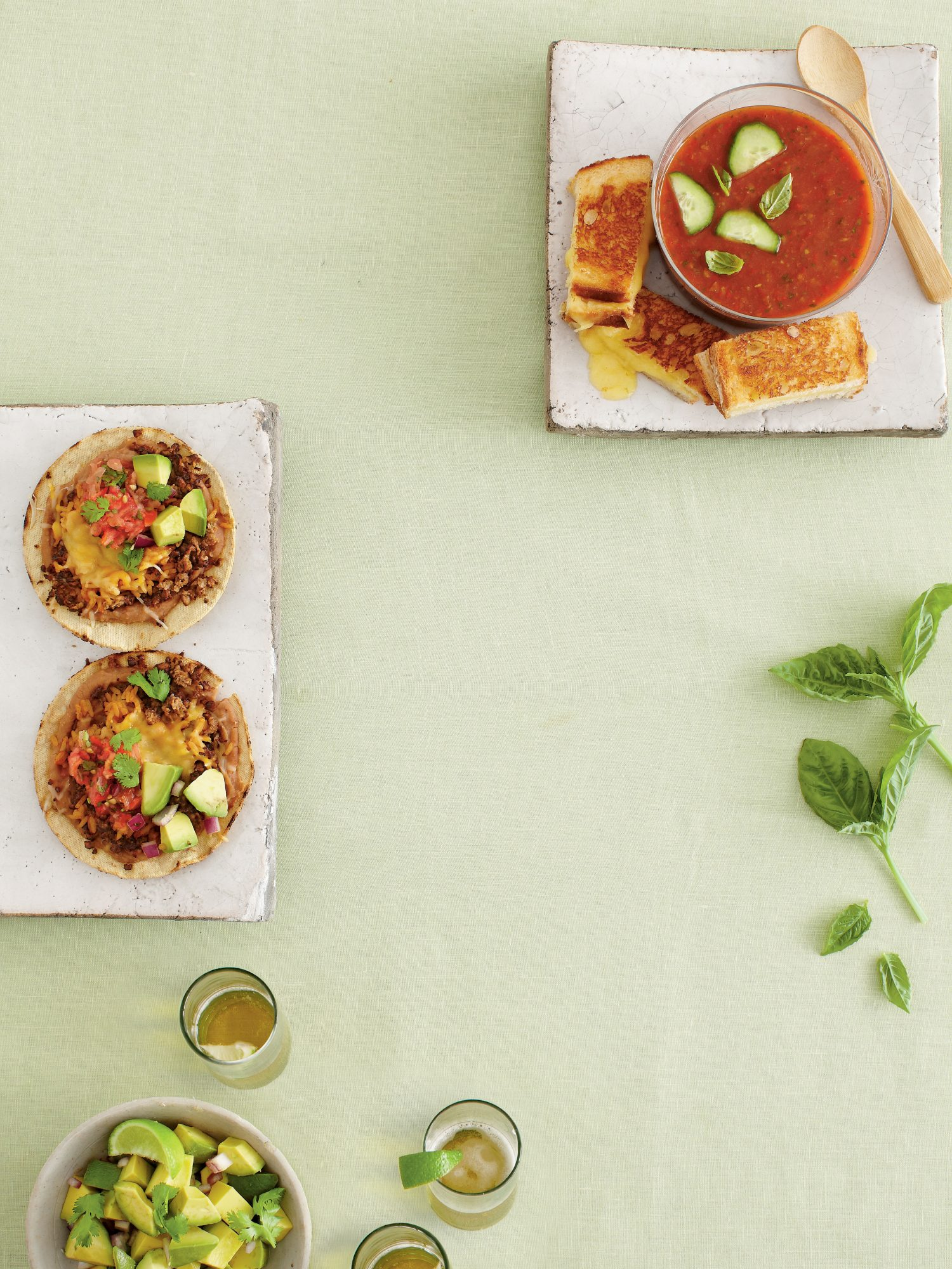 Mexicali Meatless Tostadas