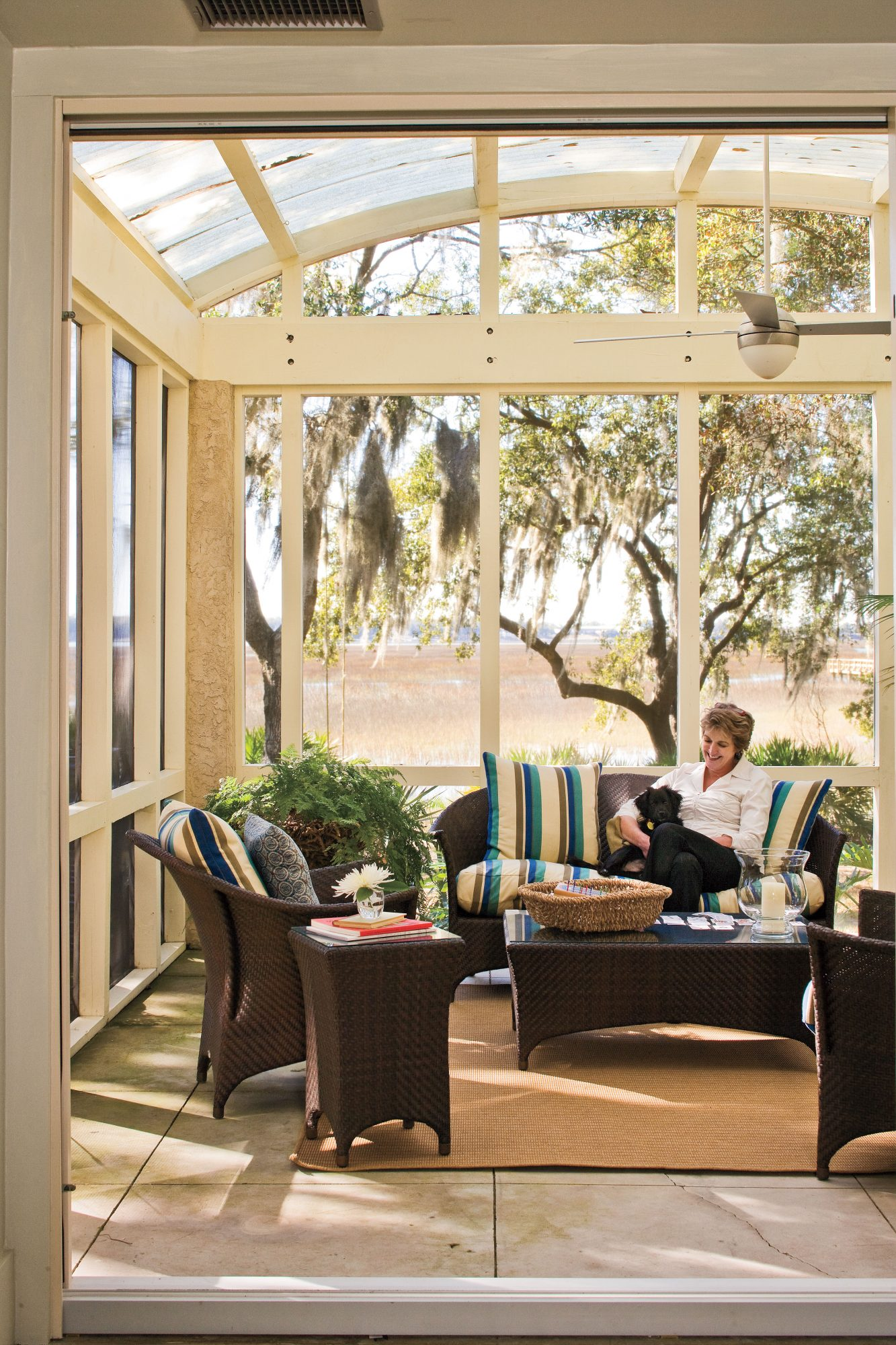 Sunny Screened Porch