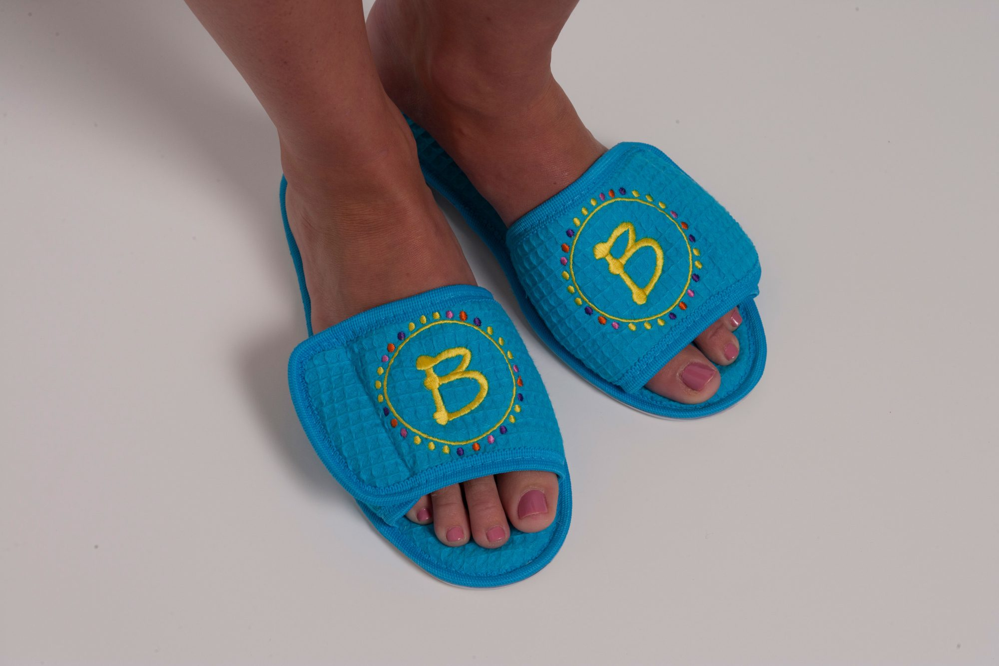 Monogrammed House Slippers