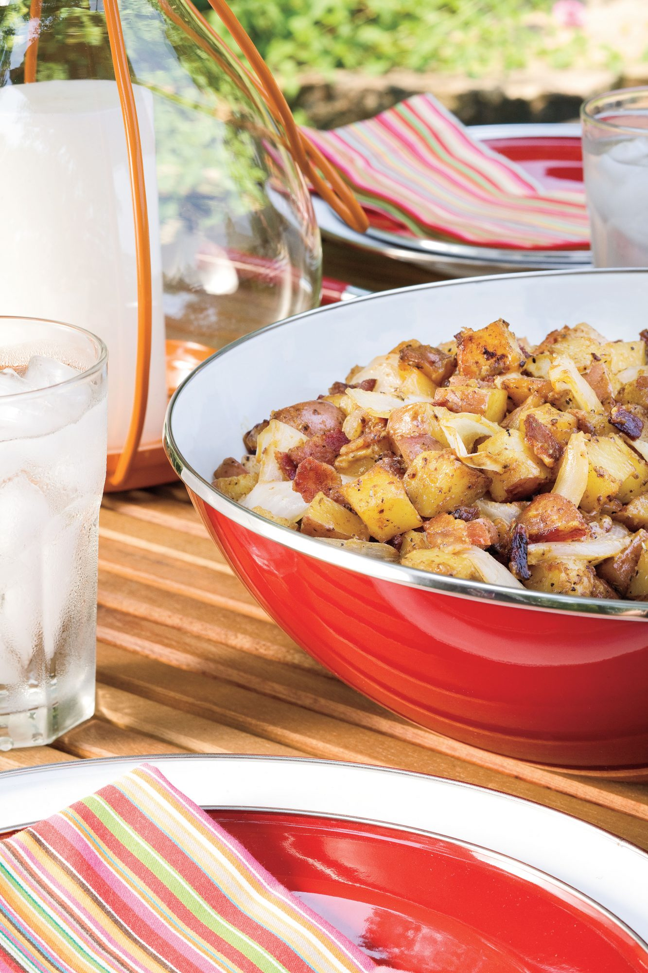Vegetarian Grilling Recipes: Grilled Potato Salad