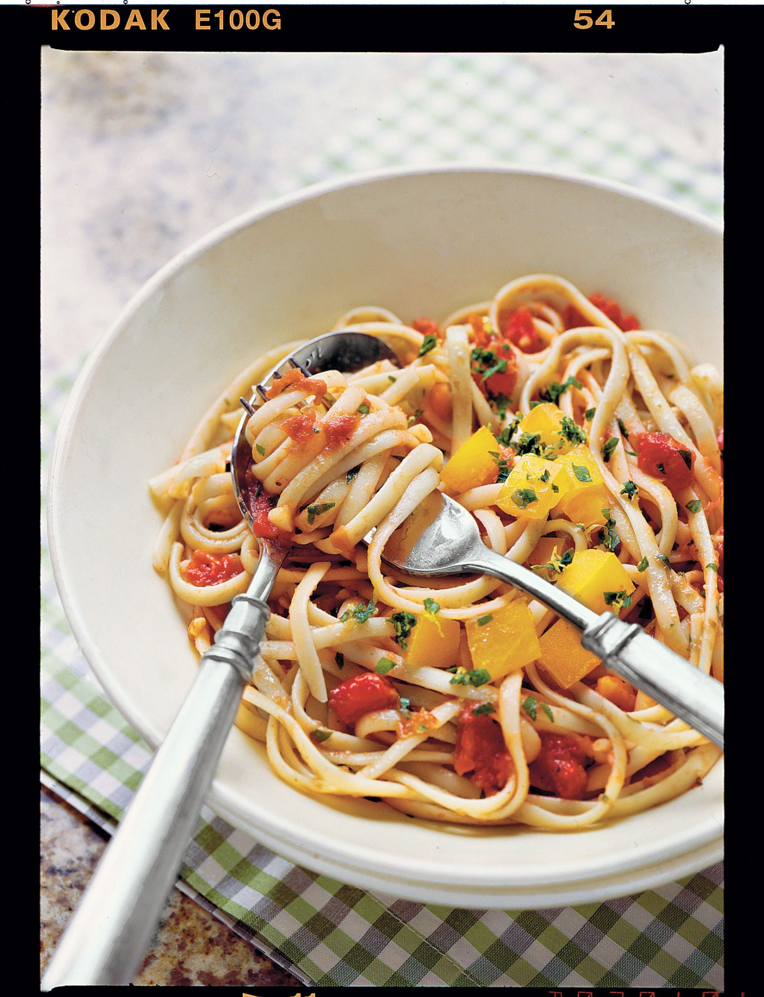 Two Tomato Linguine Recipe