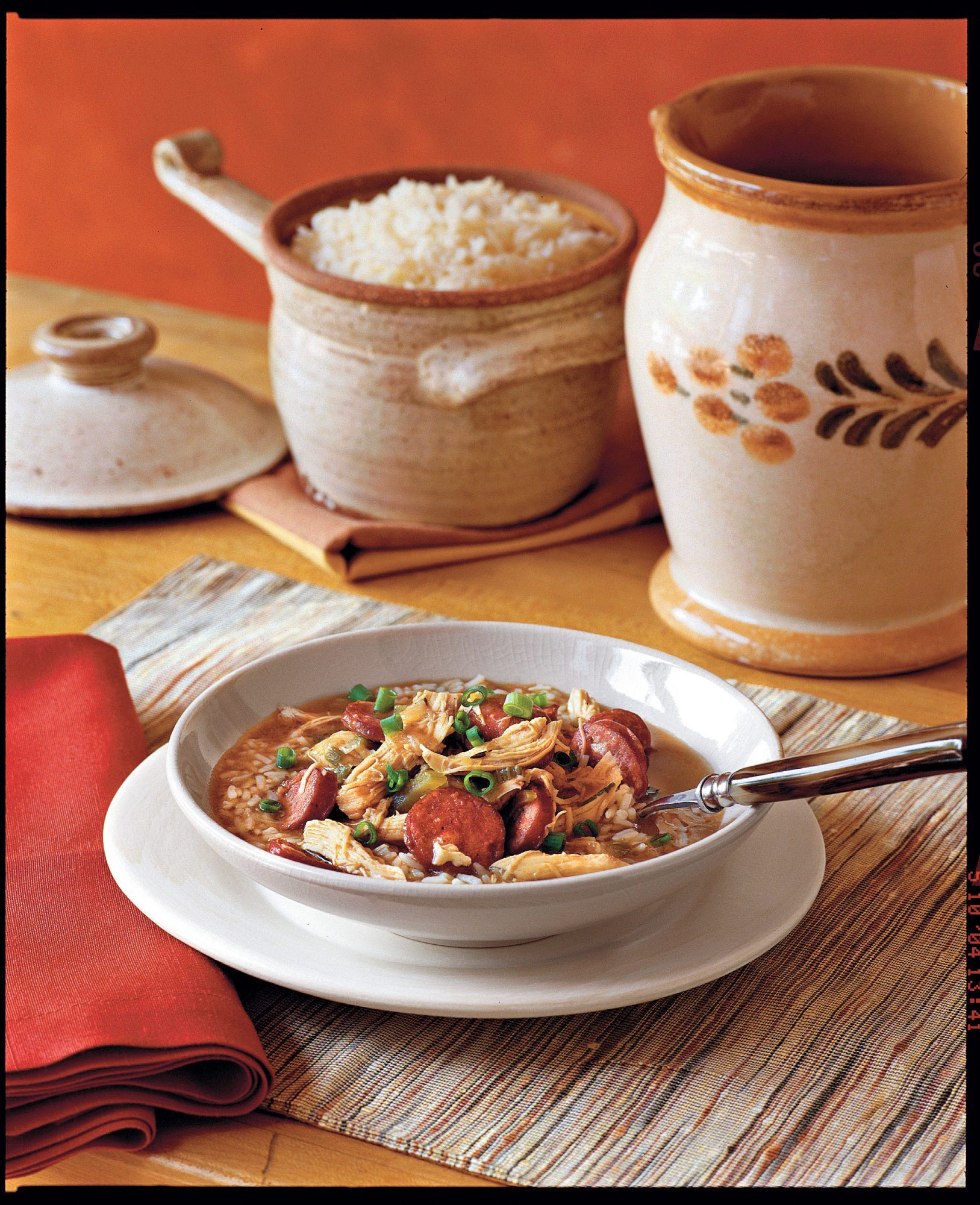 Chicken-and-Sausage Gumbo Recipe