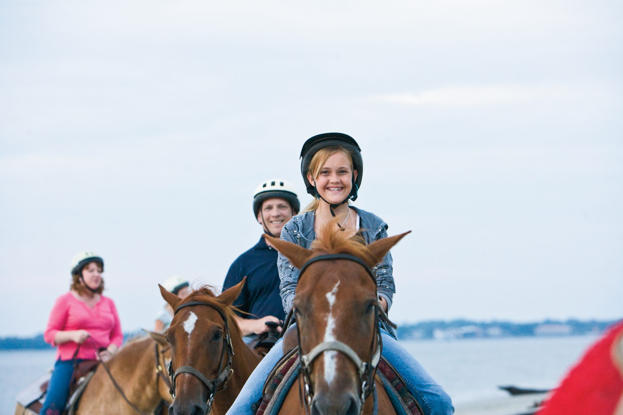 horseback riding on jekyll island beach
