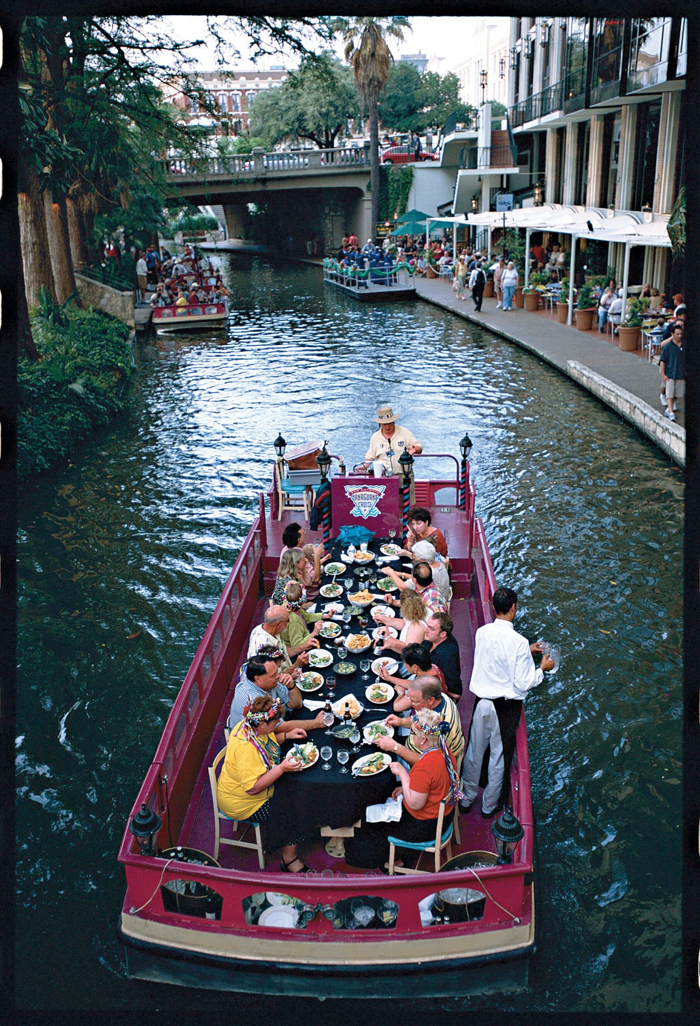 boat tour on san antonio riverwalk