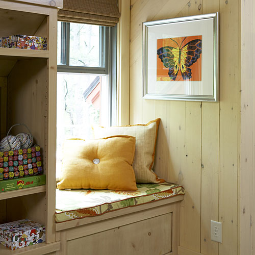 A Window Seat in a Cozy Nook