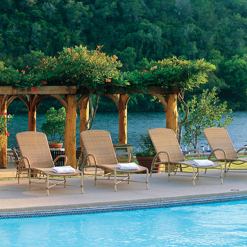 lake austin spa resort swimming pool