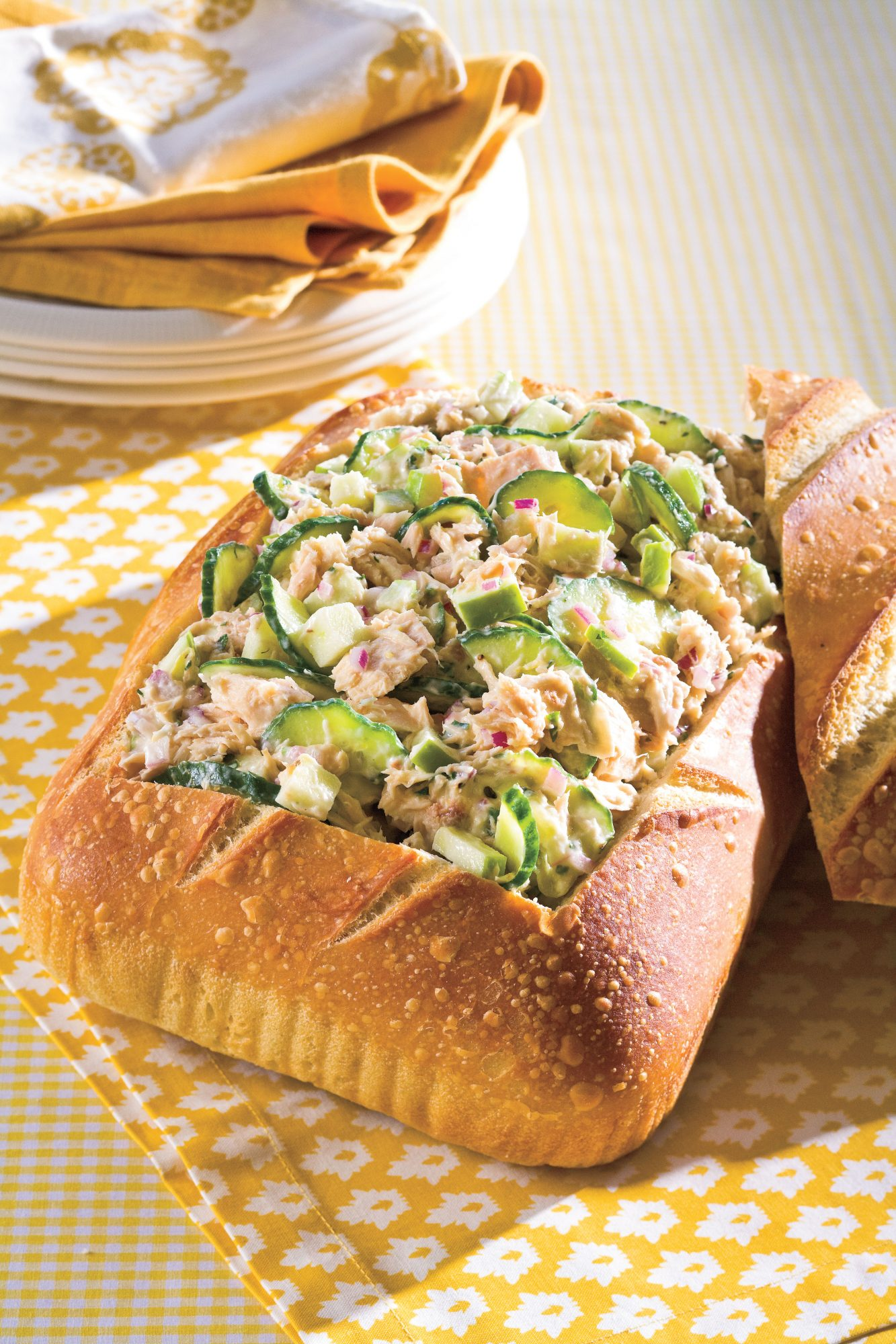 Easy, Healthy Seafood Recipes: Tuna Salad With Lemon Aïoli