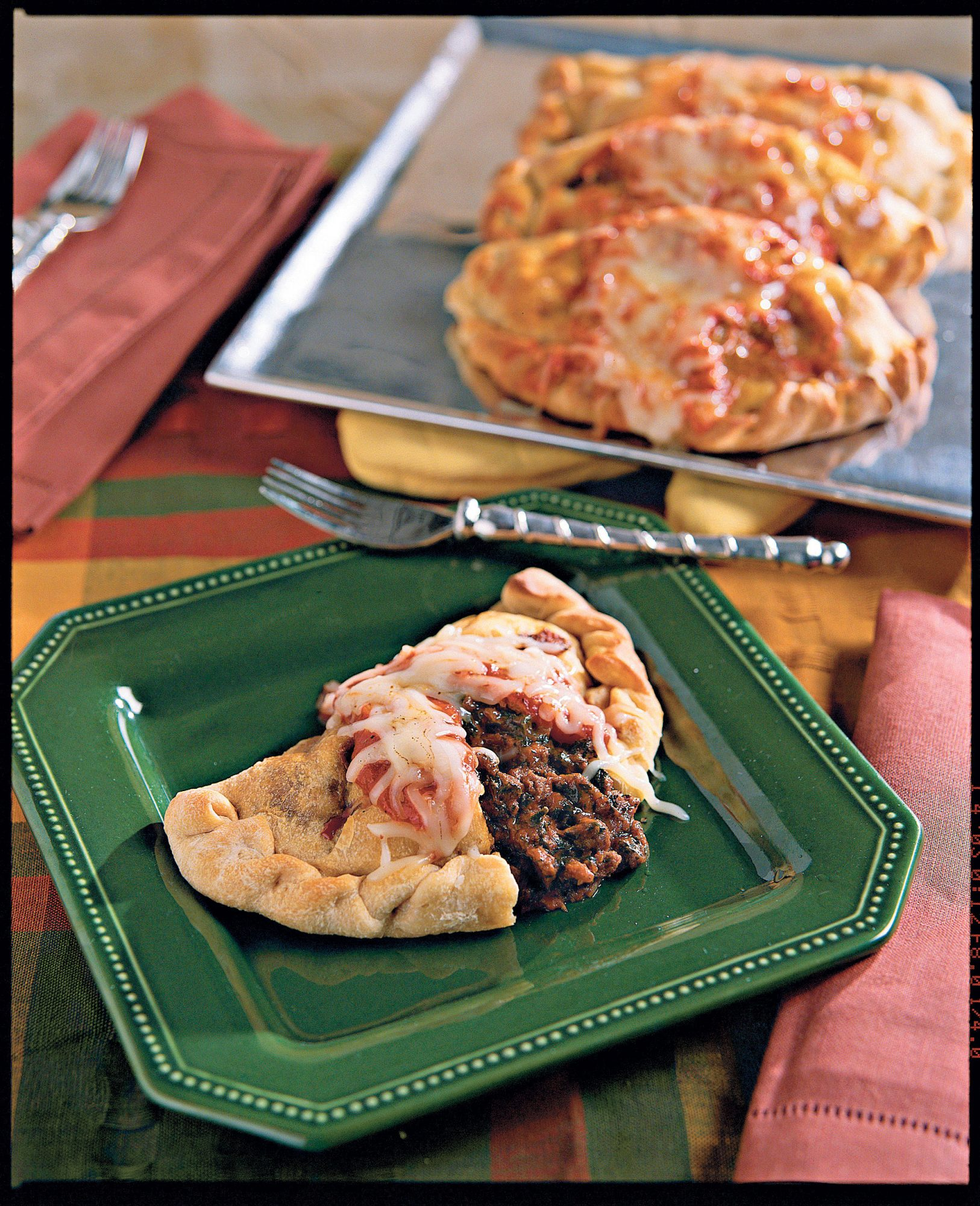 Supper Swap: Calzones with Italian Tomato Sauce Recipe