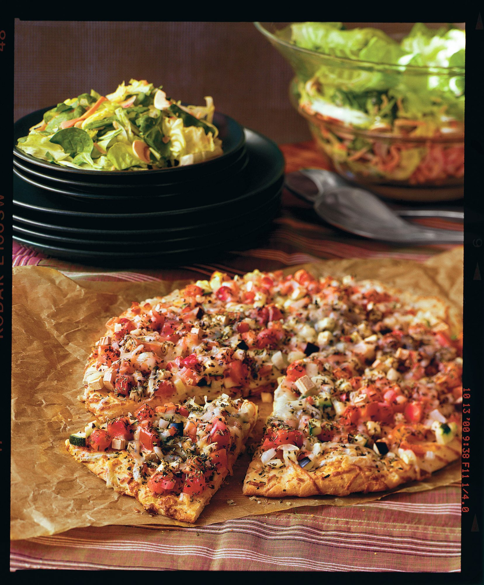 Pizza Recipes: Garden Eggplant Pizza