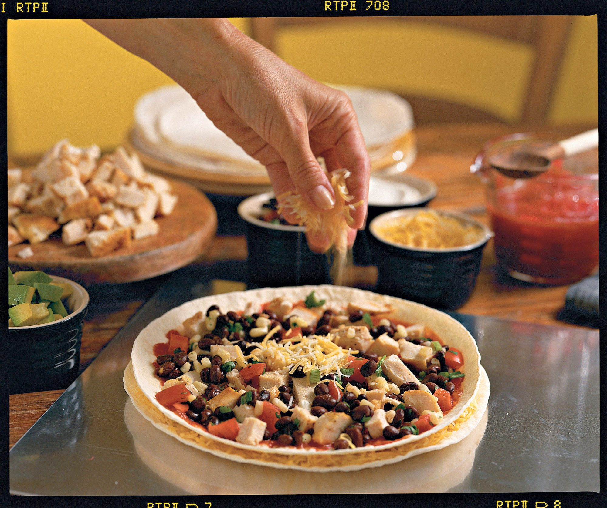 Pizza Recipes: Southwestern Pizza