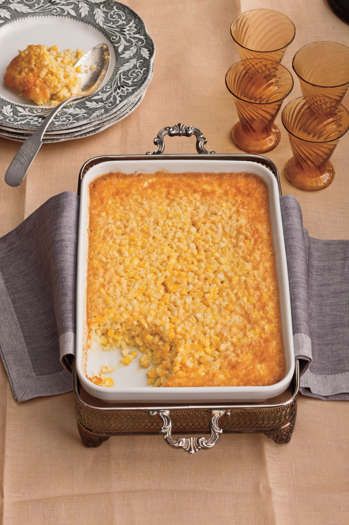 50 Best Thanksgiving Tee's Corn Pudding