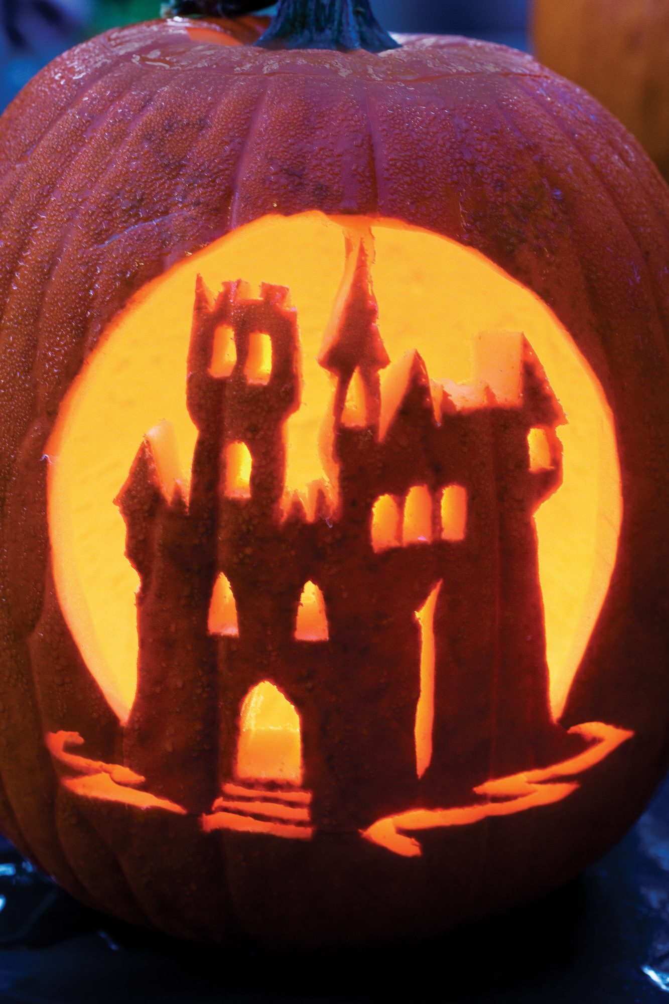 Haunted Castle Halloween Pumpkins