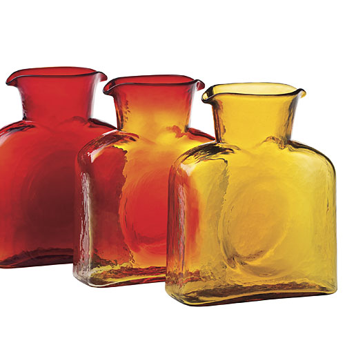 Southern Gift Ideas: Handmade Water Carafes