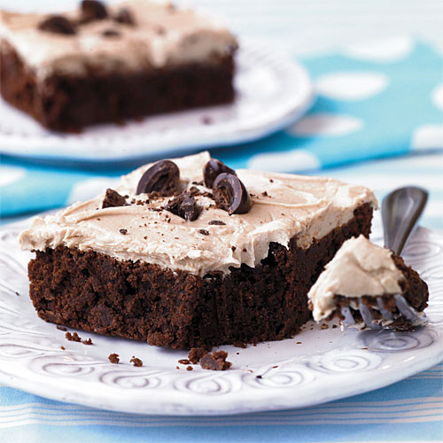 Best Cookies Recipes: Cappuccino Frosted Brownies Recipes