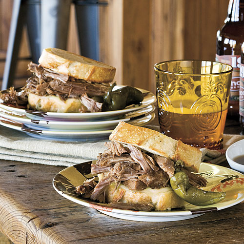 The Pioneer Woman: Cowboy Dip Sandwich Recipes