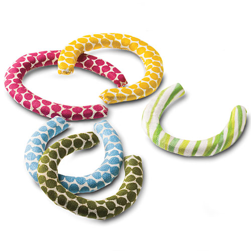 Christmas Gift Ideas: Fabric-Covered Horseshoes