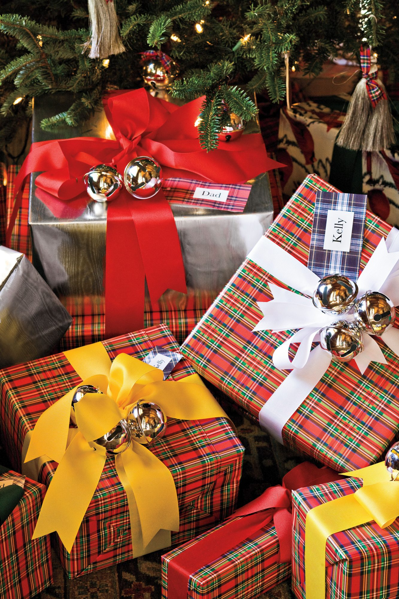 Christmas Decorating Ideas: Tartan Gift Tags