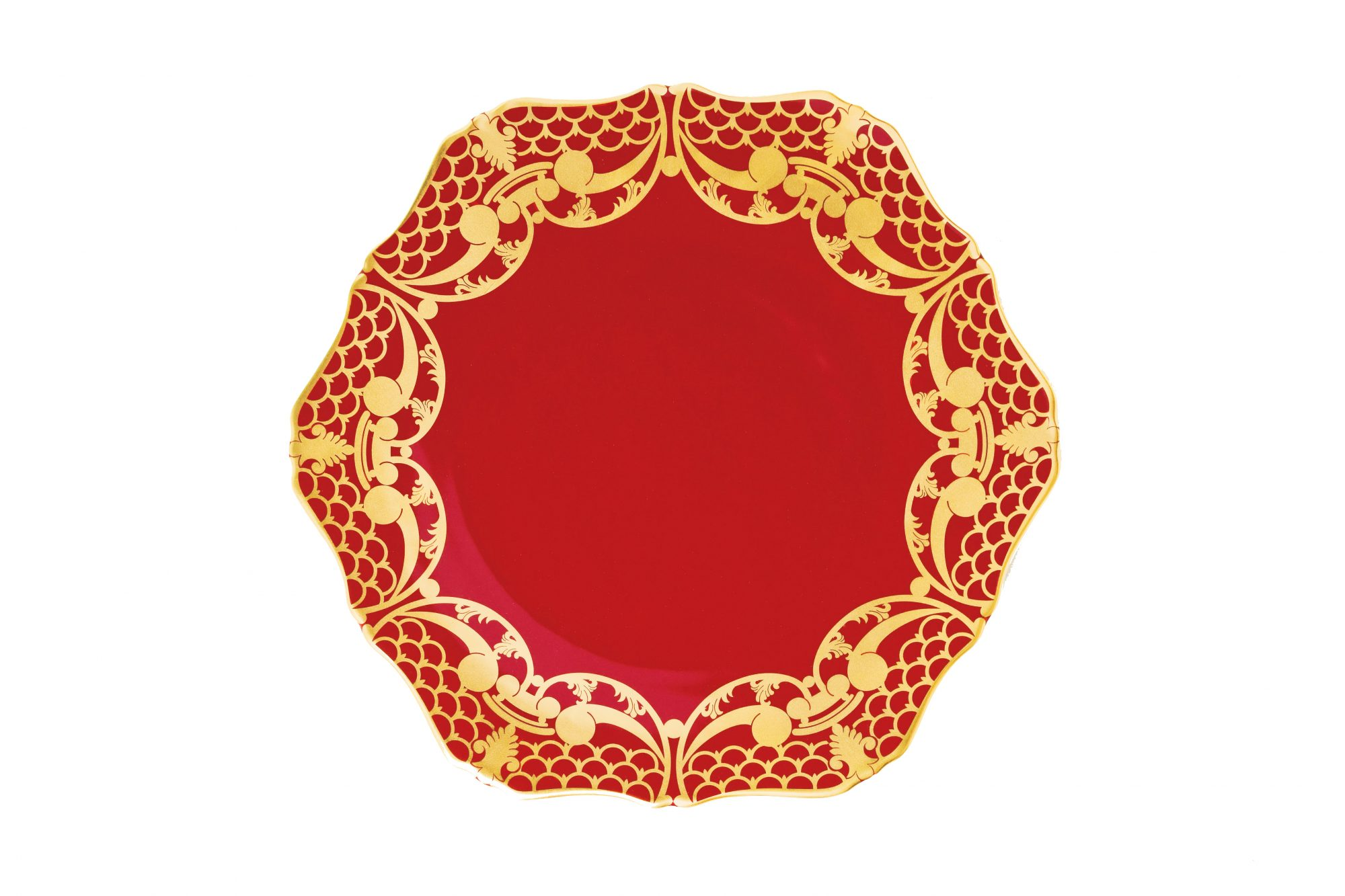 Alencon Rouge Christmas China