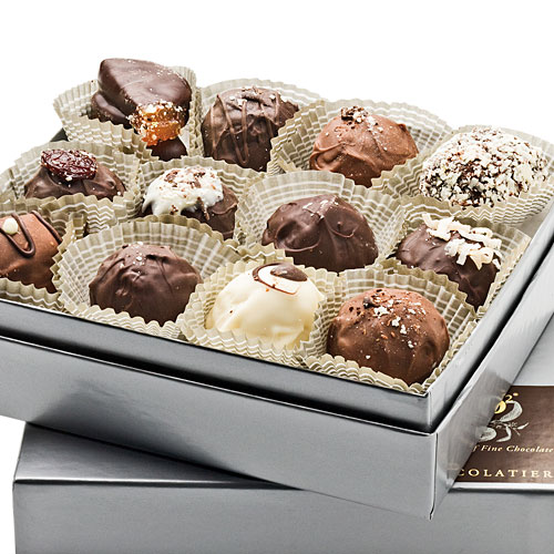Christmas Gift Ideas: Fresh Creme Chocolate Truffles