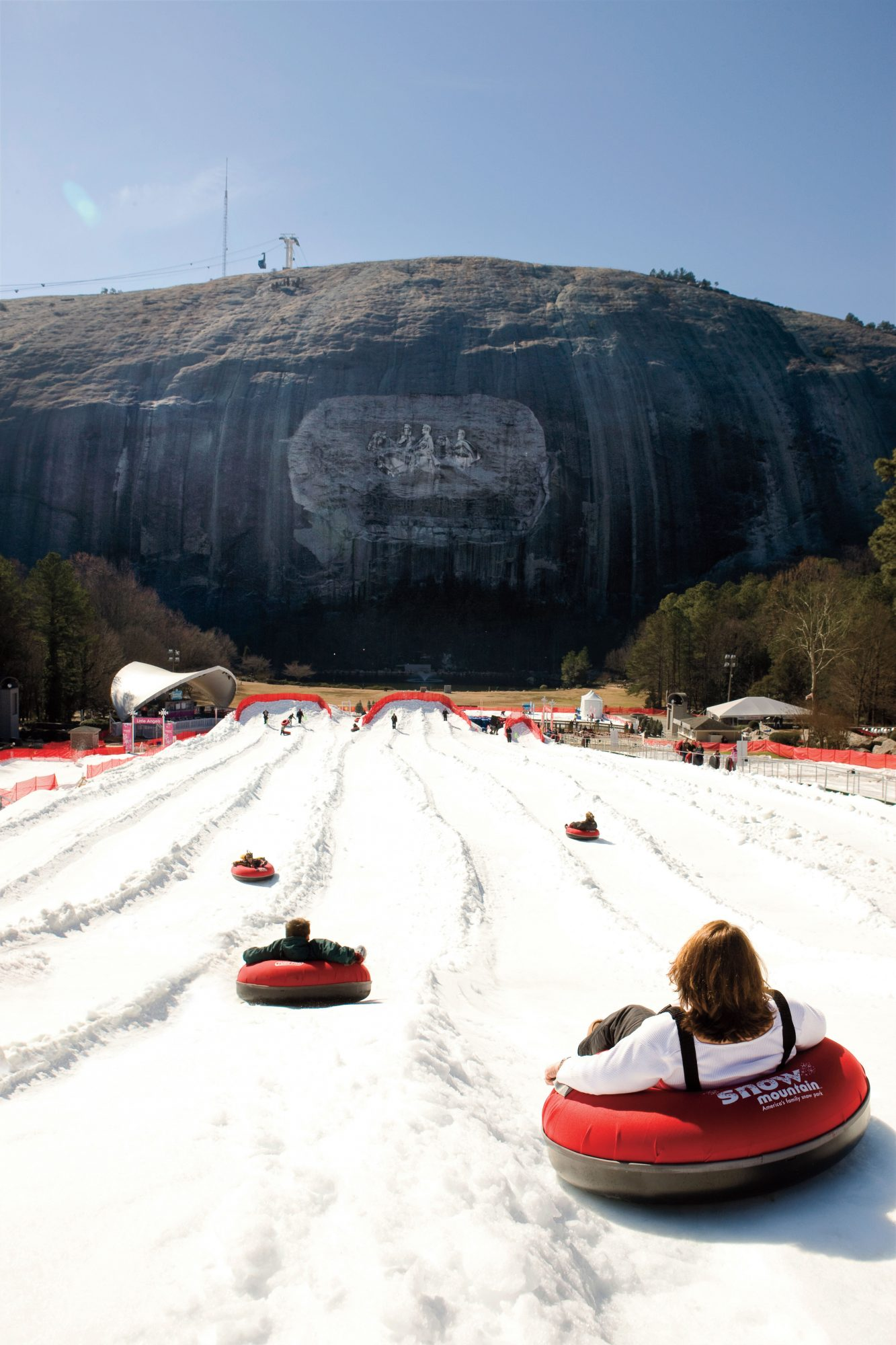Southern Christmas Vacations: Snow Mountain at Stone Mountain Park