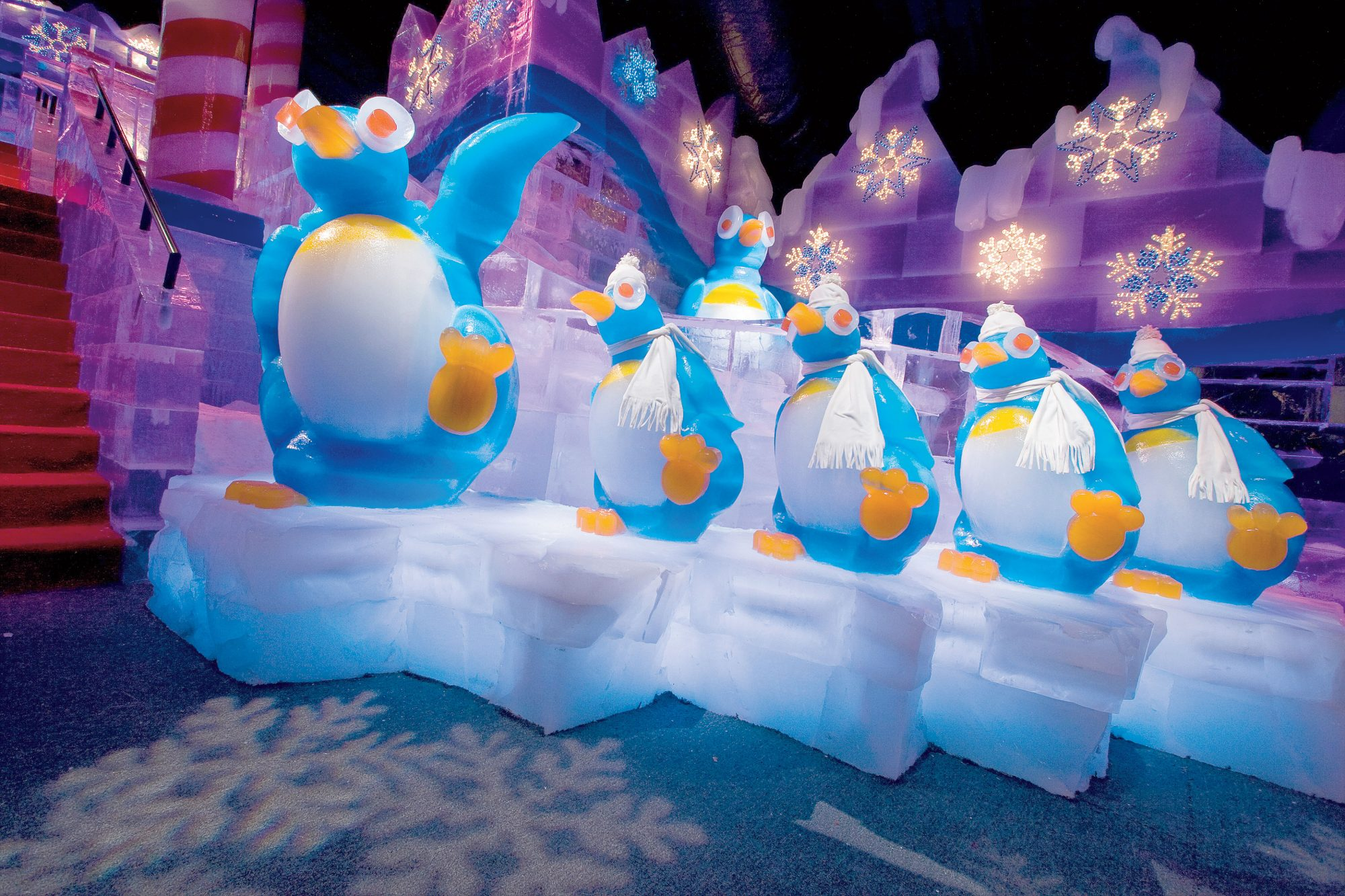 Southern Christmas Vacations: ICE! at Gaylord Palms