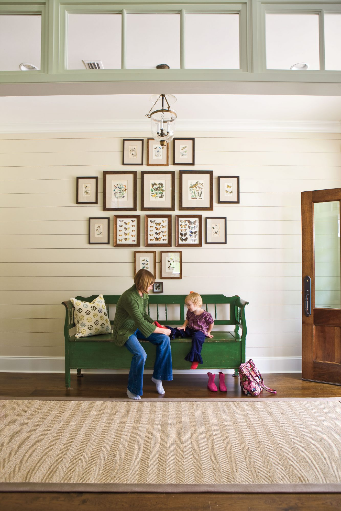 Ideas for Southern Homes: Pine-Plank Walls