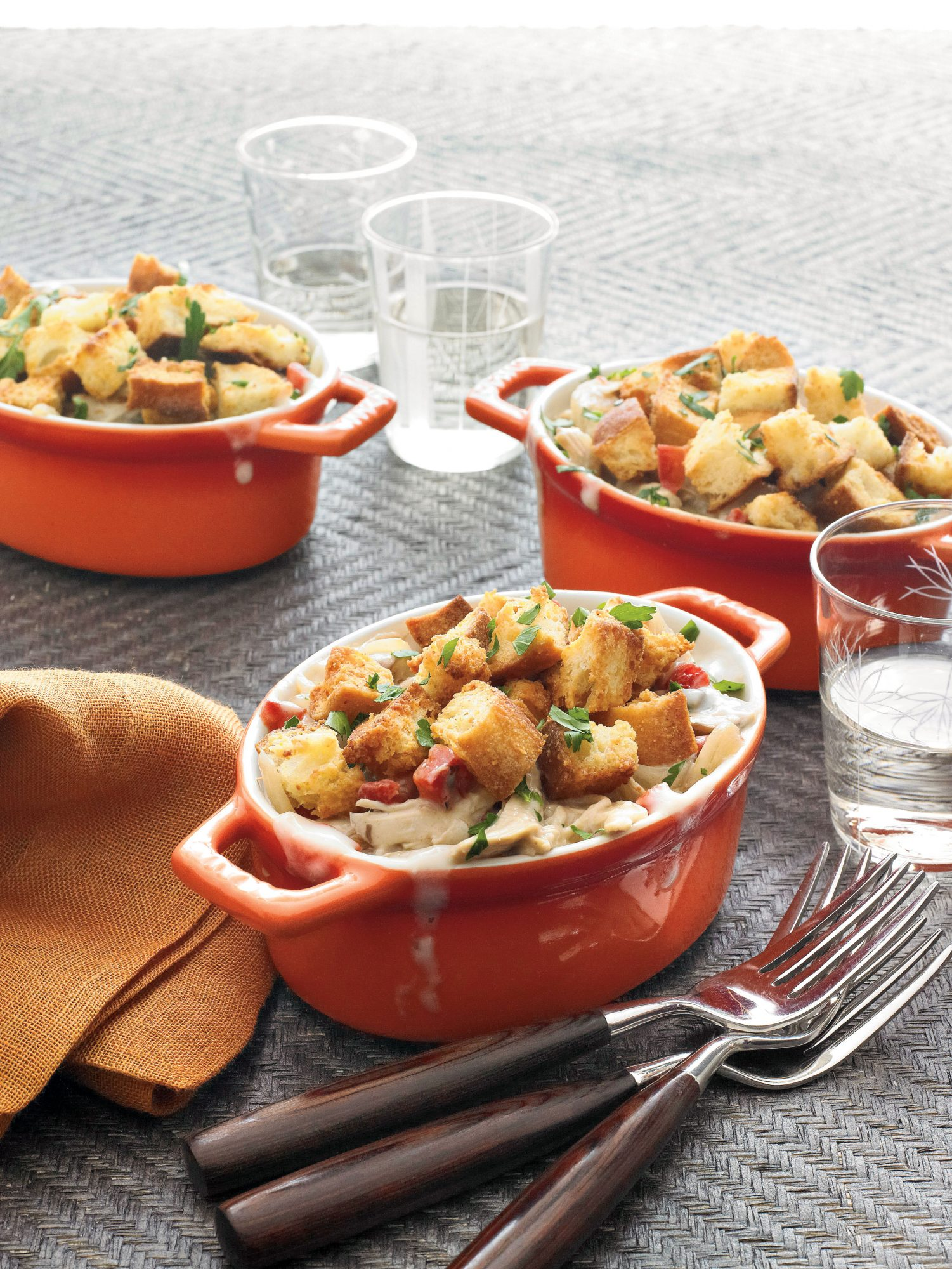 Quick and Easy Southern Recipes: Chicken Cobbler Casserole