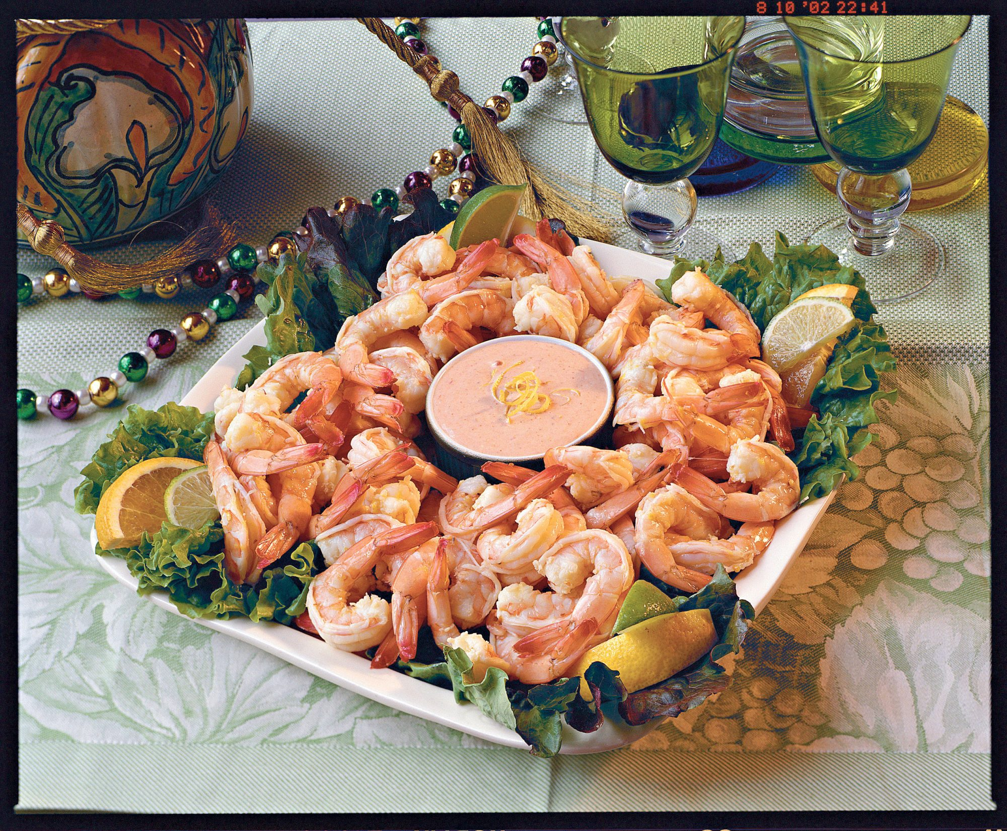 Cajun Recipes: Citrus-Marinated Shrimp with Louis Sauce