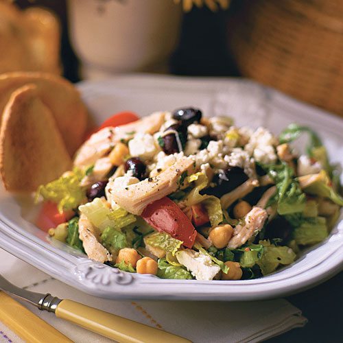 Quick and Easy Dinner Recipes: Greek Chicken Salad