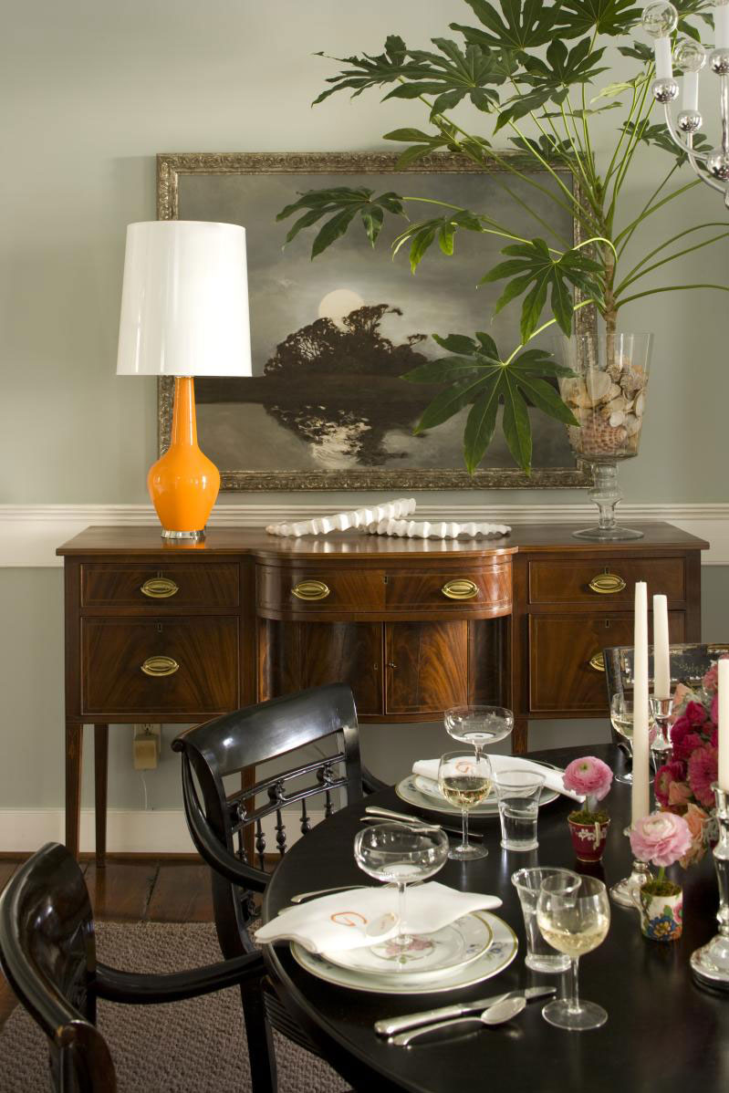 Charleston Home Dining Room: Include a Sideboard