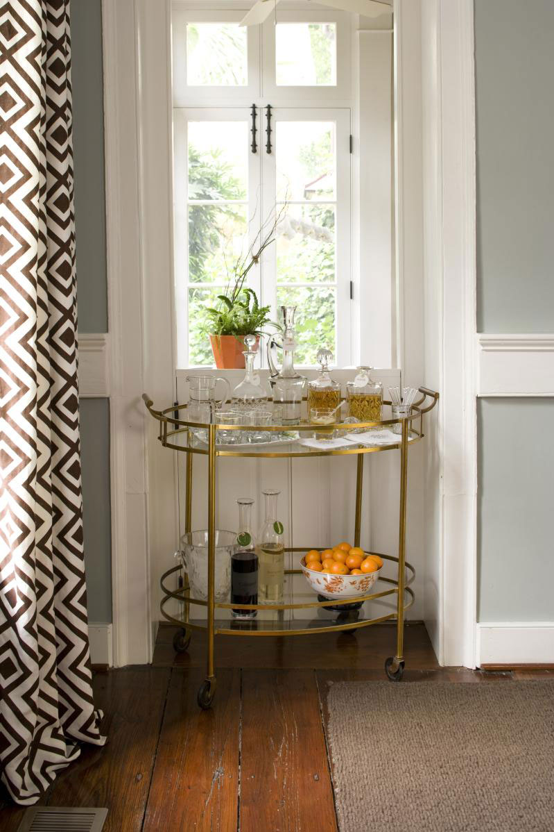 Charleston Home Dining Room: Stock the Bar