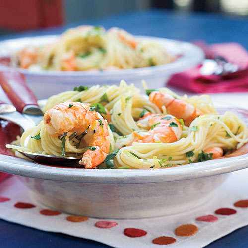 Quick and Easy Dinner Recipes: Speedy Scampi