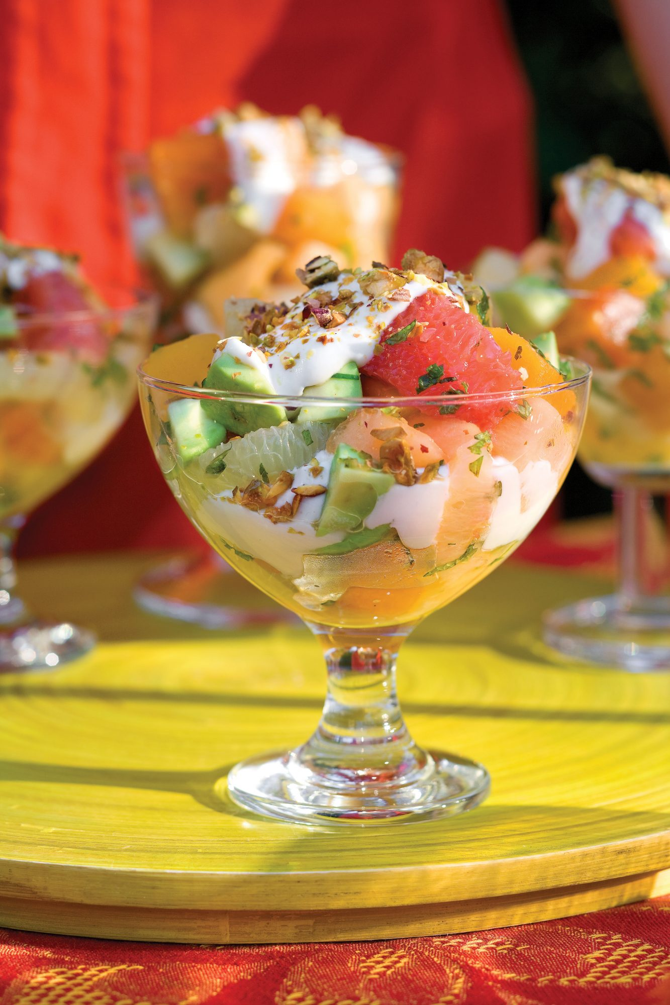 Wedding Shower Recipe Ideas: Avocado Fruit Salad