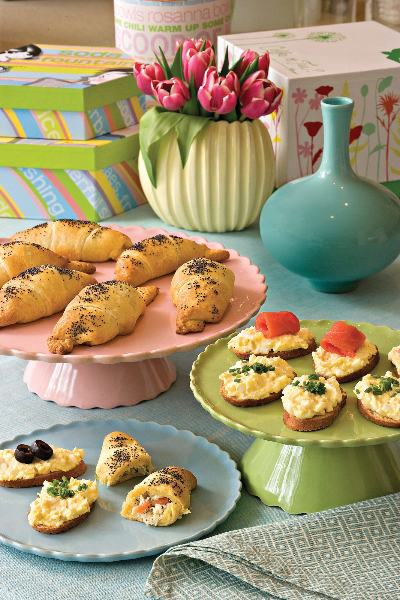 Wedding Shower Recipe Ideas: Chicken Salad Crescent Rolls