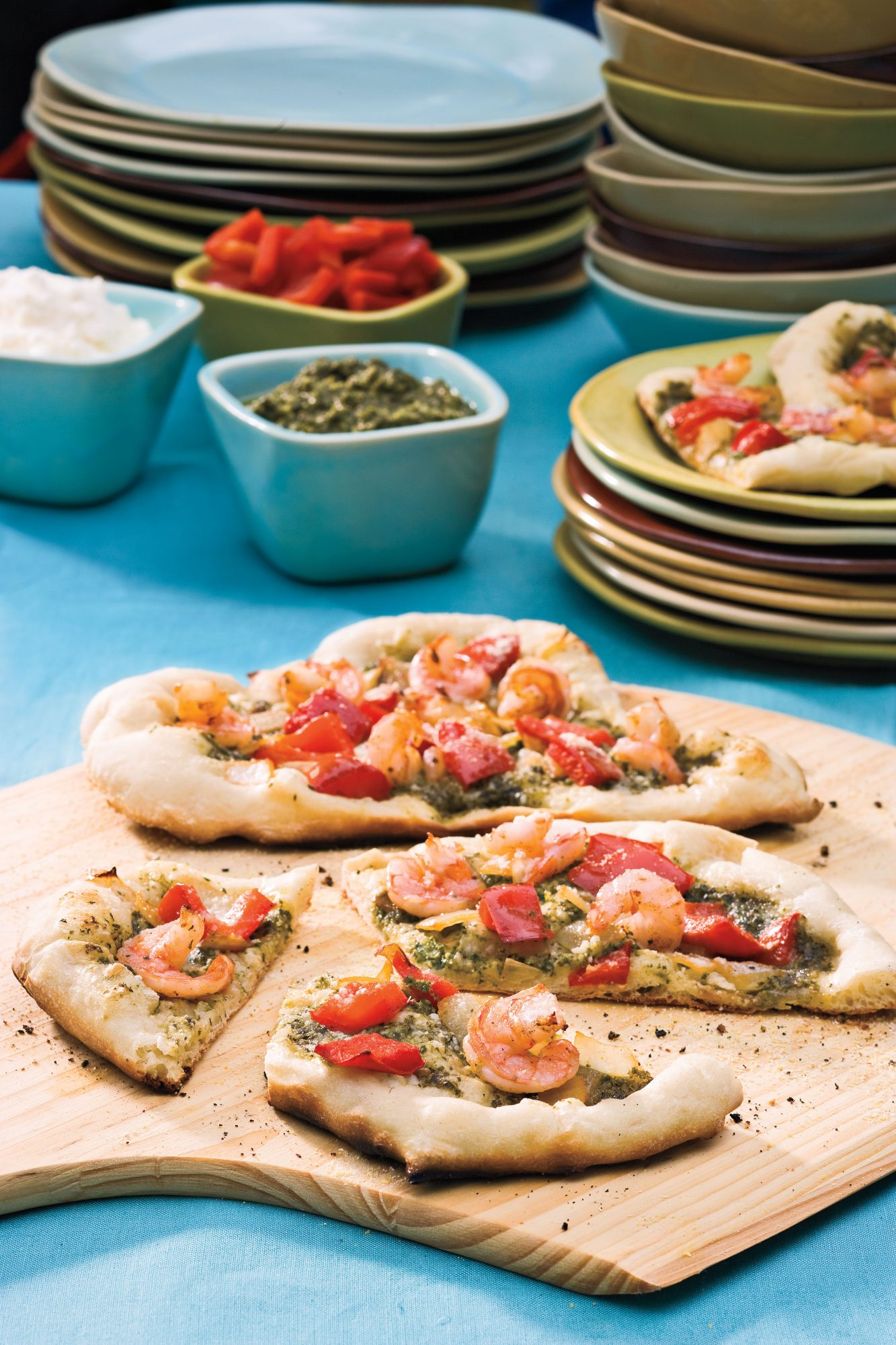 Wedding Bridal Shower Ideas: Grilled Pizzas
