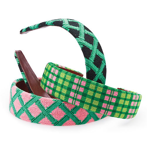 Summer Style Gifts: For Her: Needlepoint Headbands