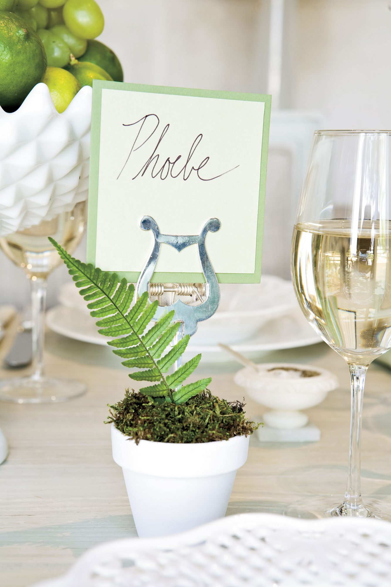 Create a Unique Place Card