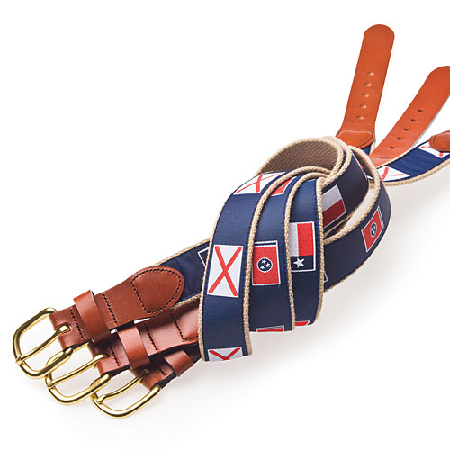 Summer Style Gifts: For Him: Volunteer Traditions Belts